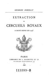 Extraction des cercueils royaux à Saint-Denis en 1793