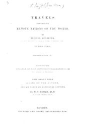 Travels into several remote Nations of the World ... By Lemuel Gulliver ... Illustrated by Grandville ... With copious notes, a life of the author, and an essay on satiricial fiction, by W. C. Taylor
