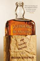 Drinking in America PDF