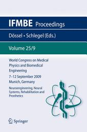 World Congress on Medical Physics and Biomedical Engineering September 7 - 12, 2009 Munich, Germany: Vol. 25/IX Neuroengineering, Neural Systems, Rehabilitation and Prosthetics