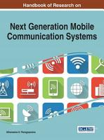 Handbook of Research on Next Generation Mobile Communication Systems PDF