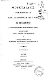 The history of the peloponesian war: Volume 3