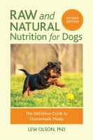 Raw and Natural Nutrition for Dogs PDF