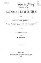 Ueber Faraday's Kraftlinien