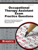 Occupational Therapy Assistant Exam Practice Questions PDF