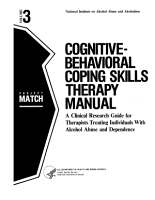 Cognitive behavioral Coping Skills Therapy Manual PDF
