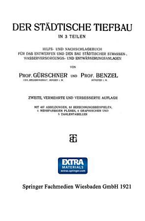 Der St  dtische Tiefbau PDF