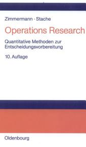 Operations Research: Quantitative Methoden zur Entscheidungsvorbereitung, Ausgabe 10