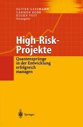High-Risk-Projekte: Quantensprünge in der Entwicklung erfolgreich managen