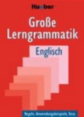 Gro  e Lerngrammatik Englisch PDF