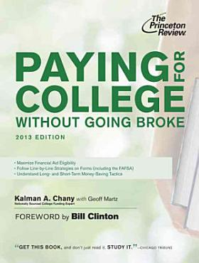 Paying for College Without Going Broke  2013 Edition PDF