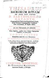 Thesaurus sacrorum rituum