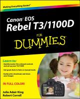 Canon EOS Rebel T3 1100D For Dummies PDF