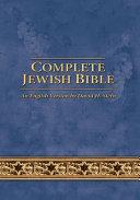 Complete Jewish Bible Book