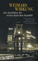 Weimars Wirkung PDF