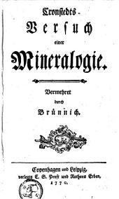 Versuch einer Mineralogie. Vermehret durch Bruennich