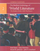 The Bedford Anthology of World Literature  Compact Edition  Volume 2 PDF