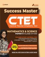 CTET Success Master Maths   Science Paper 2 for Class 6 to 8 2020 PDF