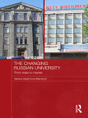 The Changing Russian University