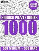 1000 Sudoku Puzzles 500 Medium & 500 Hard