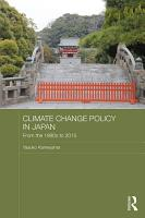 Climate Change Policy in Japan PDF