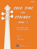 Solo Time for Strings  Book 3 PDF
