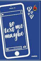 So Text Me Maybe PDF