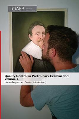 Quality Control in Preliminary Examination PDF