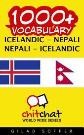 1000+ Icelandic - Nepali Nepali - Icelandic Vocabulary