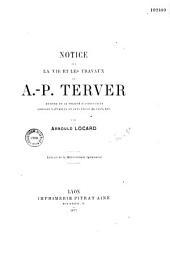 Notice sur la vie et les travaux de A.P. Terver