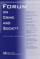 Forum on Crime and Society: Volume 2