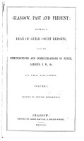Glasgow  Past and Present PDF