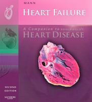 Heart Failure  A Companion to Braunwald s Heart Disease E book PDF