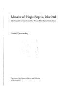 Download Mosaics of Hagia Sophia  Istanbul Book