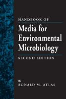 Handbook of Media for Environmental Microbiology PDF