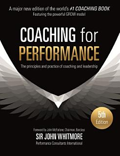 Coaching for Performance Fifth Edition Book