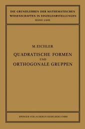 Quadratische Formen und Orthogonale Gruppen