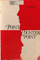 Point Counter point PDF