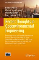 Recent Thoughts in Geoenvironmental Engineering PDF