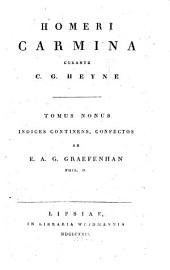 Carmina: Indices continens, Volume 9