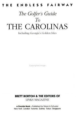 The Golfer's Guide to the Carolinas