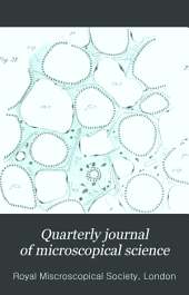 Quarterly Journal of Microscopical Science: Volume 32