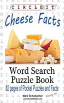 Circle It, Cheese Facts, Word Search, Puzzle Book