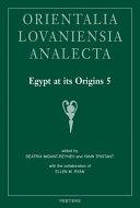 Egypt at Its Origins