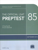 The Official LSAT PrepTest 85 Book