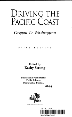 Driving the Pacific Coast Oregon and Washington PDF
