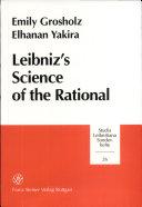Leibniz's Science of the Rational