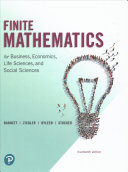 Finite Mathematics for Business  Economics  Life Sciences  and Social Sciences and Mylab Math with Pearson Etext    Title Specific Access Card Package