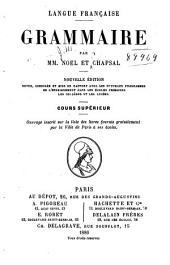 Langue française: Grammaire