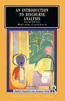 An Introduction to Discourse Analysis PDF
